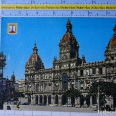 Postales: POSTAL DE LA CORUÑA. AÑO 1966. PALACIO MUNICIPAL. 50 ESCUDO ORO. 2719. Lote 194639088