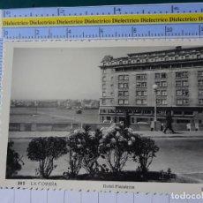 Postales: POSTAL DE CORUÑA. AÑOS 30 50. HOTEL FINISTERRE 382 ROISIN. 2723. Lote 194639738