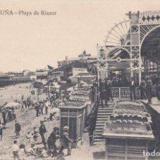 Postales: LA CORUÑA - PLAYA DE RIAZOR. Lote 194664946