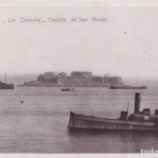 Postales: LA CORUÑA - CASTILLO DE SAN ANTON. Lote 194665520