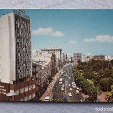 Postales: LA CORUÑA. LOS CANTONES Y PARQUE. ESCRITA.. Lote 194715770