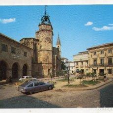 Postales: BETANZOS. IGLESIA DE SANTIAGO Y AYUNTAMIENTO.. Lote 194716301