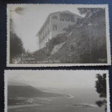Postales: 2 ANTIGUAS POSTALES DE LA GUARDIA (PONTEVEDRA), COLECCION ESPAÑA PINTORESCA, ARTISITICA Y MONUMENTAL. Lote 194721766