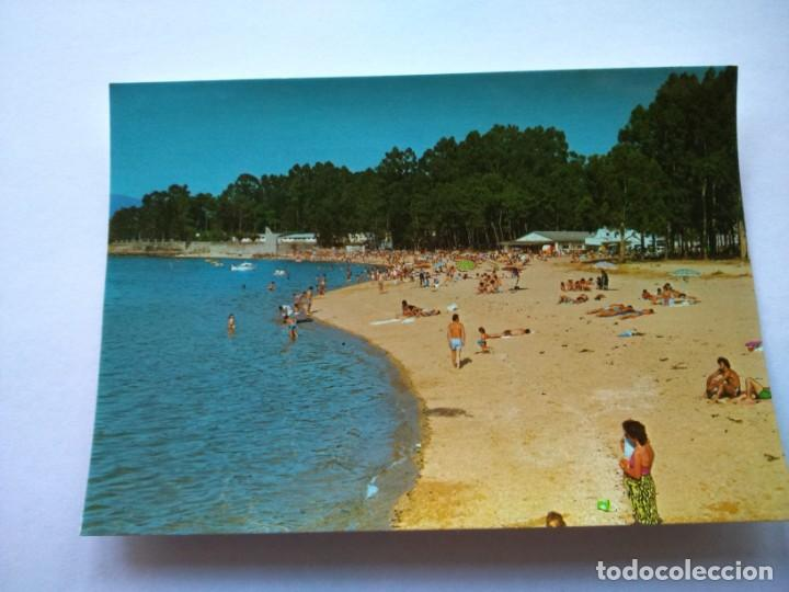 POSTAL -- VILLANUEVA DE AROSA - PLAYA DE LAS SINAS -- SIN USO -- (Postales - España - Galicia Moderna (desde 1940))