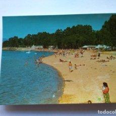 Postales: POSTAL -- VILLANUEVA DE AROSA - PLAYA DE LAS SINAS -- SIN USO --. Lote 194863891