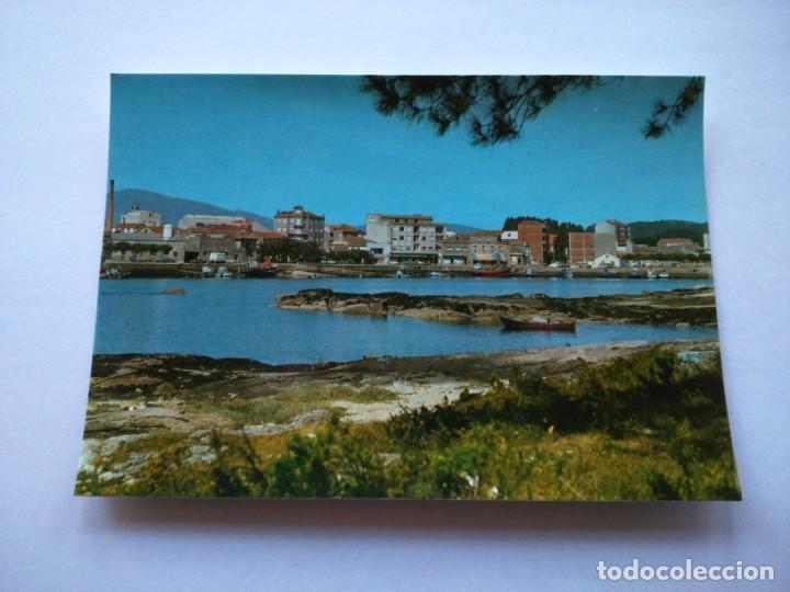 POSTAL -- VILLANUEVA DE AROSA - VISTA PARCIAL -- SIN USO -- (Postales - España - Galicia Moderna (desde 1940))