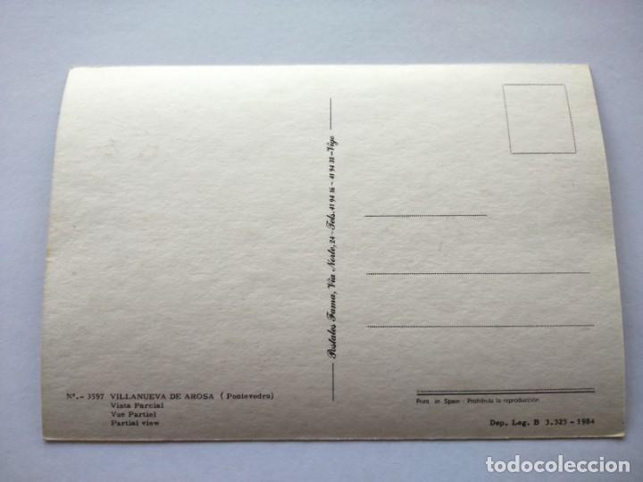 Postales: POSTAL -- VILLANUEVA DE AROSA - VISTA PARCIAL -- SIN USO -- - Foto 2 - 194864071