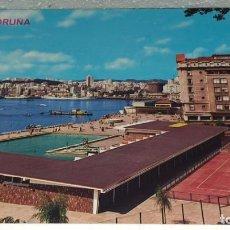 Postales: POSTAL LA CORUÑA VISTA PARCIAL. Lote 194889258