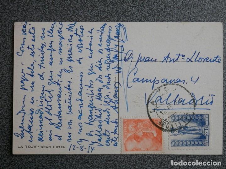 Postales: LA TOJA PONTEVEDRA LOTE 2 POSTALES FOTOGRÁFICAS ANTIGUAS - Foto 2 - 194901801