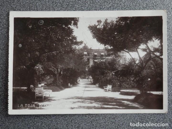 Postales: LA TOJA PONTEVEDRA LOTE 2 POSTALES FOTOGRÁFICAS ANTIGUAS - Foto 3 - 194901801