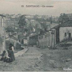 Postales: LOTE V-POSTAL SANTIAGO DE COMPOSTELA GALICIA FECHADA EN 1921. Lote 194916708