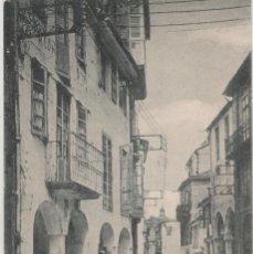 Postales: LOTE V-POSTAL SANTIAGO DE COMPOSTELA GALICIA FECHADA EN 1921. Lote 194916743