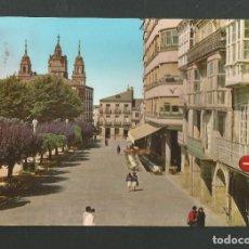 Postales: POSTAL CIRCULADA - LUGO 8 - PLAZA DE ESPAÑA - EDITA ALARDE. Lote 194928618