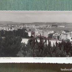 Postales: POSTAL LA CORUÑA VISTA PARCIAL. Lote 194990273