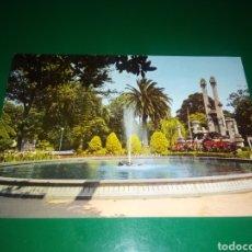 Postales: ANTIGUA POSTAL DE LA CORUÑA. PARQUE DE MÉNDEZ NÚÑEZ. AÑOS 60. Lote 195016190