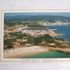 Postales: POSTAL PONTEVEDRA - PORTONOVO Y SANXENXO - VISTA AEREA - 1976 - FAMA 3461 - SIN CIRCULAR. Lote 195028617