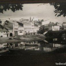 Postales: BETANZOS-VISTA PARCIAL DE LA CIUDAD DESDE EL PUENTE NUEVO-POSTAL ANTIGUA-VER FOTOS-(68.048). Lote 195125370