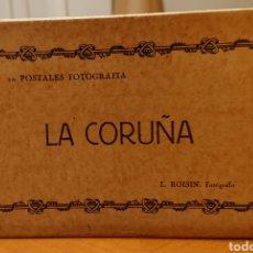 Postales: LA CORUÑA. LIBRITO CON DIEZ POSTALES SIN CIRCULAR.. Lote 195148088