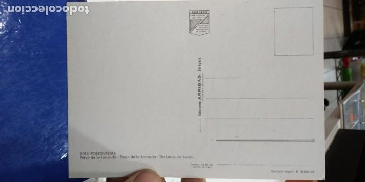 Postales: Postal Playa de la Lanzada Pontevedra N 2014 ARRIBAS S/C - Foto 2 - 195220416