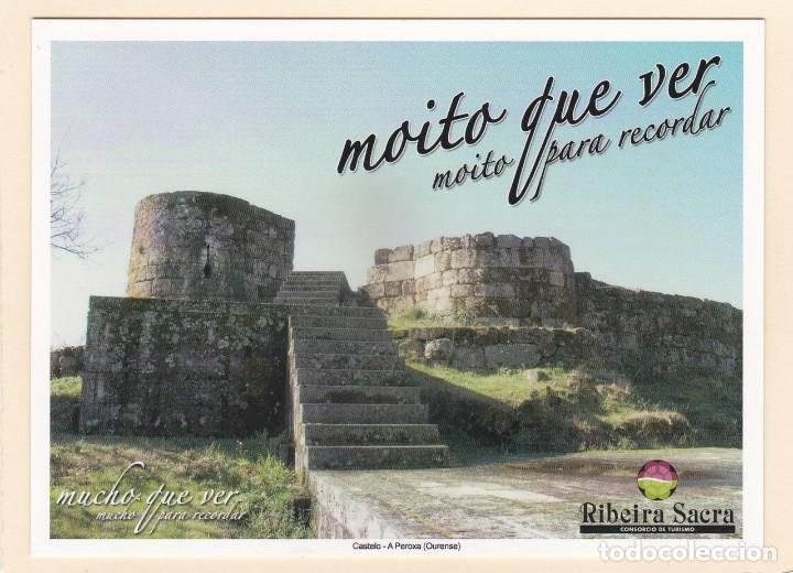 POSTAL CASTELO. A PEROXA. OURENSE - RIBEIRA SACRA (Postales - España - Galicia Moderna (desde 1940))