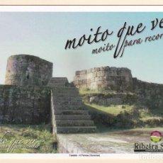 Postales: POSTAL CASTELO. A PEROXA. OURENSE - RIBEIRA SACRA. Lote 195222525