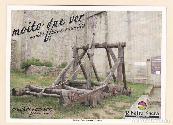 POSTAL CASTELO. CASTRO CALDELAS. OURENSE - RIBEIRA SACRA (Postales - España - Galicia Moderna (desde 1940))