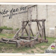 Postales: POSTAL CASTELO. CASTRO CALDELAS. OURENSE - RIBEIRA SACRA. Lote 195222827