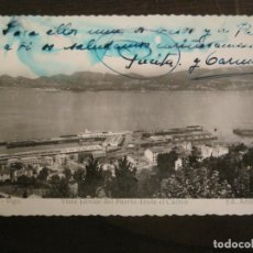 Postales: VIGO-VISTA PARCIAL DEL PUERTO DESDE EL CASTRO-ED·ARRIBAS-151-POSTAL ANTIGUA-(68.141). Lote 195227471