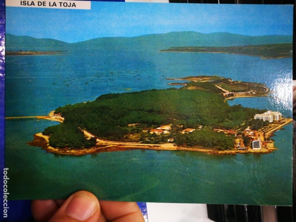 POSTAL ISLA DE LA TOJA PONTEVEDRA VISTA AÉREA N 3076 FAMA S/C (Postales - España - Galicia Moderna (desde 1940))