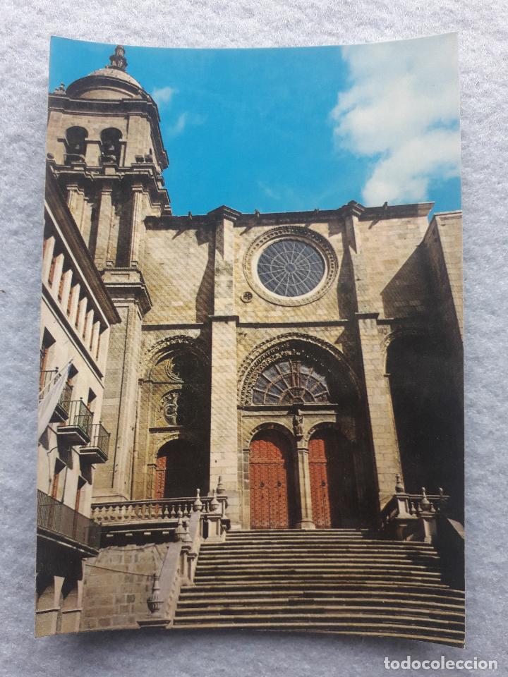 ORENSE. LA CATEDRAL. PUERTA PRINCIPAL. (Postales - España - Galicia Moderna (desde 1940))