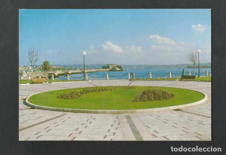 POSTAL SIN CIRCULAR - A CORUÑA 4 - PLAZA EN EL PASEO DEL PARROTE - EDITA FOTO BLANCO (Postales - España - Galicia Moderna (desde 1940))
