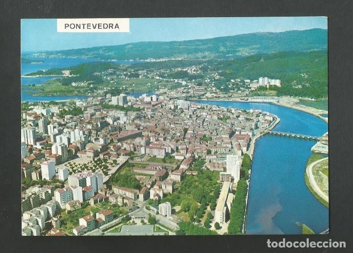 POSTAL CIRCULADA - PONTEVEDRA 3151 - VISTA AEREA - EDITA POSTALES FAMA (Postales - España - Galicia Moderna (desde 1940))