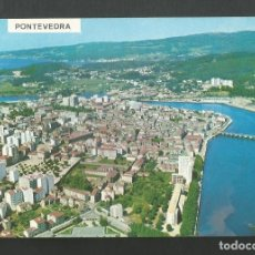 Postales: POSTAL CIRCULADA - PONTEVEDRA 3151 - VISTA AEREA - EDITA POSTALES FAMA. Lote 195354123
