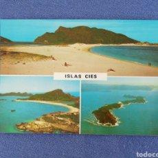 Postales: ISLAS CIES. RIA DE VIGO. Lote 195394913