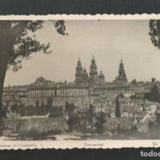 Postales: POSTAL SIN CIRCULAR - SANTIAGO DE COMPOSTELA 1 - VISTA PARCIAL - EDITA ARRIBAS. Lote 195414757