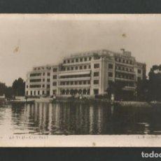 Postales: POSTAL CIRCULADA - LA TOJA 19 - GRAN HOTEL - GALICIA - EDITA L.ROISIN. Lote 195426216
