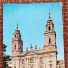 Postales: LUGO - CATEDRAL. Lote 195460786