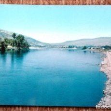 Postales: BARCO DE VALDEORRAS - ORENSE - RIO SIL Y MALECON. Lote 195461376