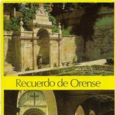 Postales: == B1548 - POSTAL - RECUERDO DE ORENSE. Lote 195495908