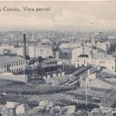 Postales: LA CORUÑA - VISTA PARCIAL. Lote 195666042
