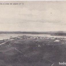 Postales: LA CORUÑA - A VISTA DE PAJARO. Lote 195666746