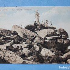 Postales: LA CORUÑA. LA VIRGEN DE PASTORIZA.. Lote 196163832