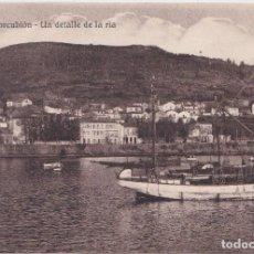 Postales: CORCUBION (LA CORUÑA) - UN DETALLE DE LA RIA. Lote 197133888