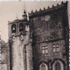 Postales: TUY (PONTEVEDRA) - LA CATEDRAL - FACHADA NORTE. Lote 197138261