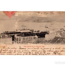Postales: VIGO.(PONTEVEDRA).- VISTA GENERAL DE LA GUIA DE VIGO.. Lote 197173560