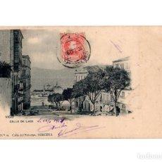 Postales: VIGO.(PONTEVEDRA).- CALLE DE LAGE.. Lote 197185348