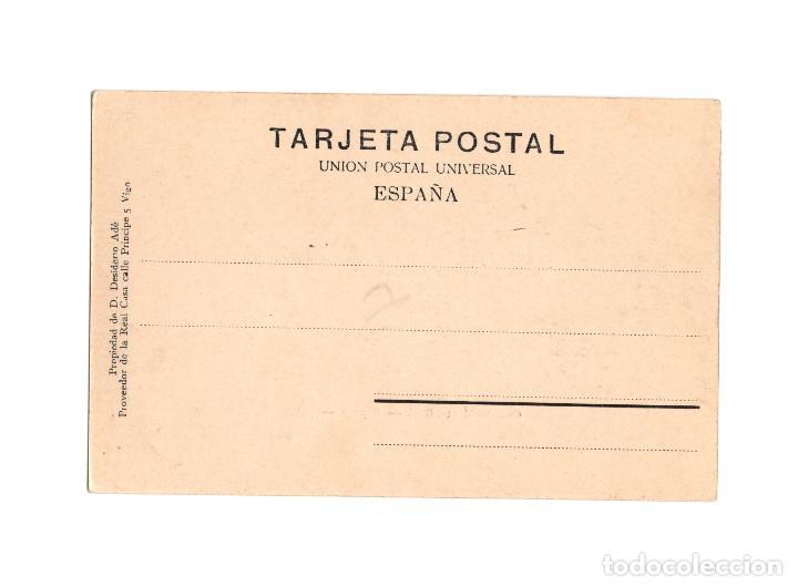 Postales: VIGO.(PONTEVEDRA).- CASTILLO MONTE REAL. BAYONA. - Foto 2 - 197186858
