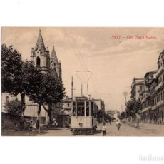 Postales: VIGO.(PONTEVEDRA).- CALLE GARCIA BARBÓN.. Lote 197199478