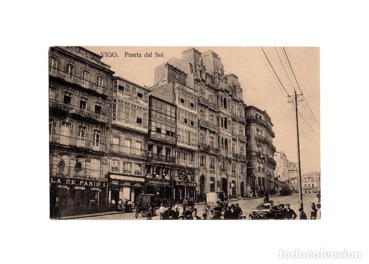 VIGO.(PONTEVEDRA).- PUERTA DEL SOL. (Postales - España - Galicia Antigua (hasta 1939))