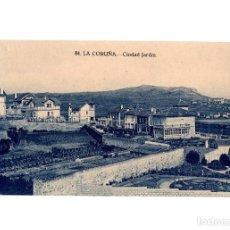 Cartes Postales: LA CORUÑA.- CIUDAD JARDÍN.. Lote 197248480